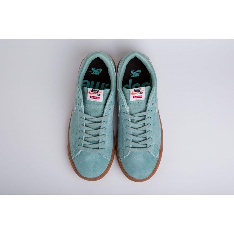 Кроссовки Nike SB Blazer Low GT x Supreme